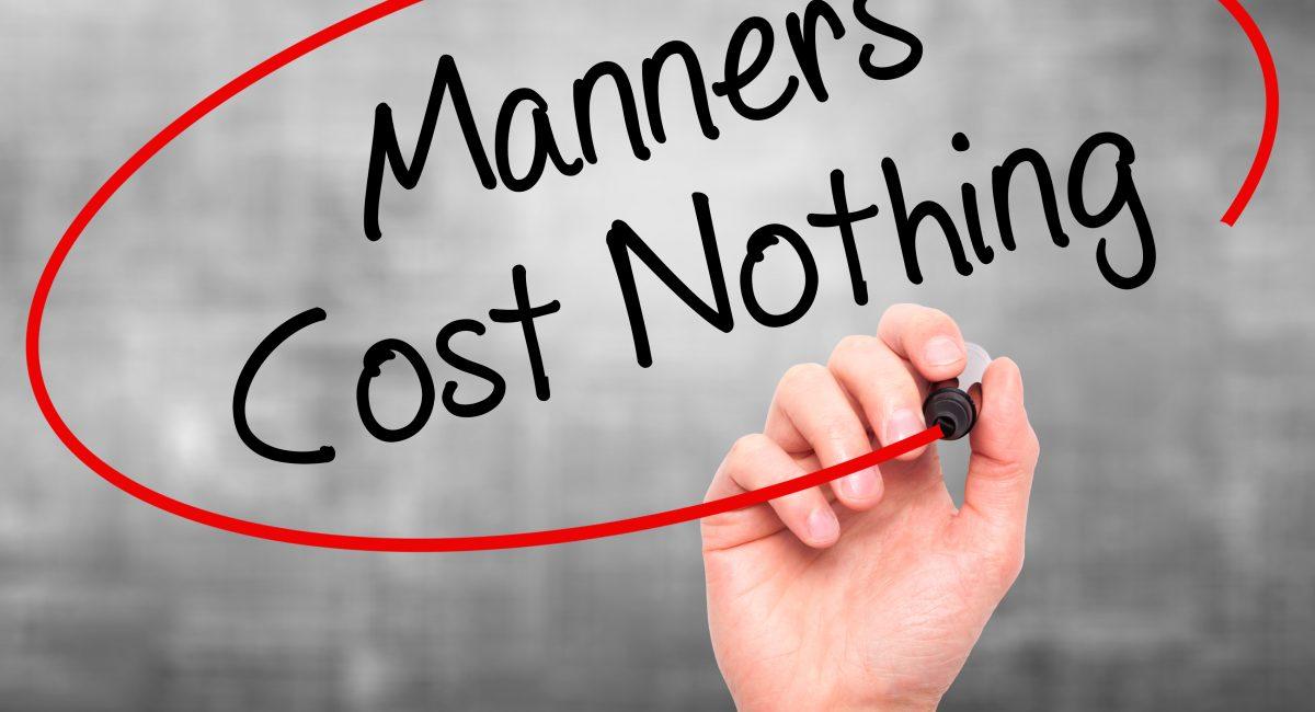 Despre bune maniere în business