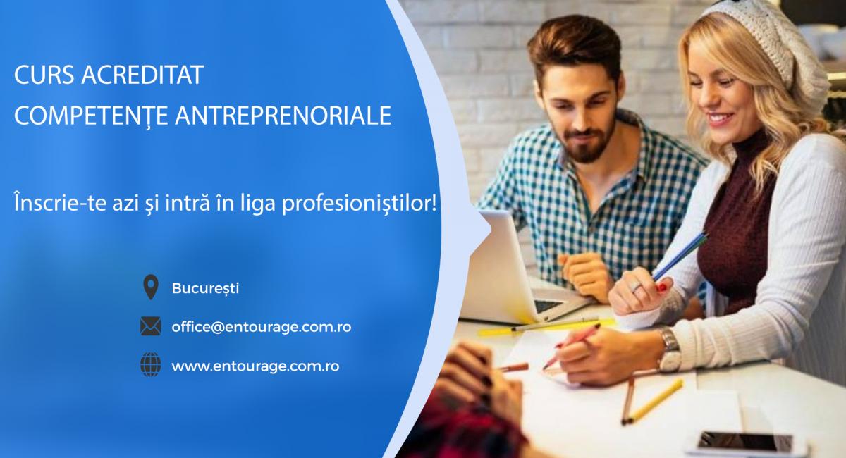 Cel mai amplu curs de competențe antreprenoriale începe pe 19 mai. Nu-l rata!